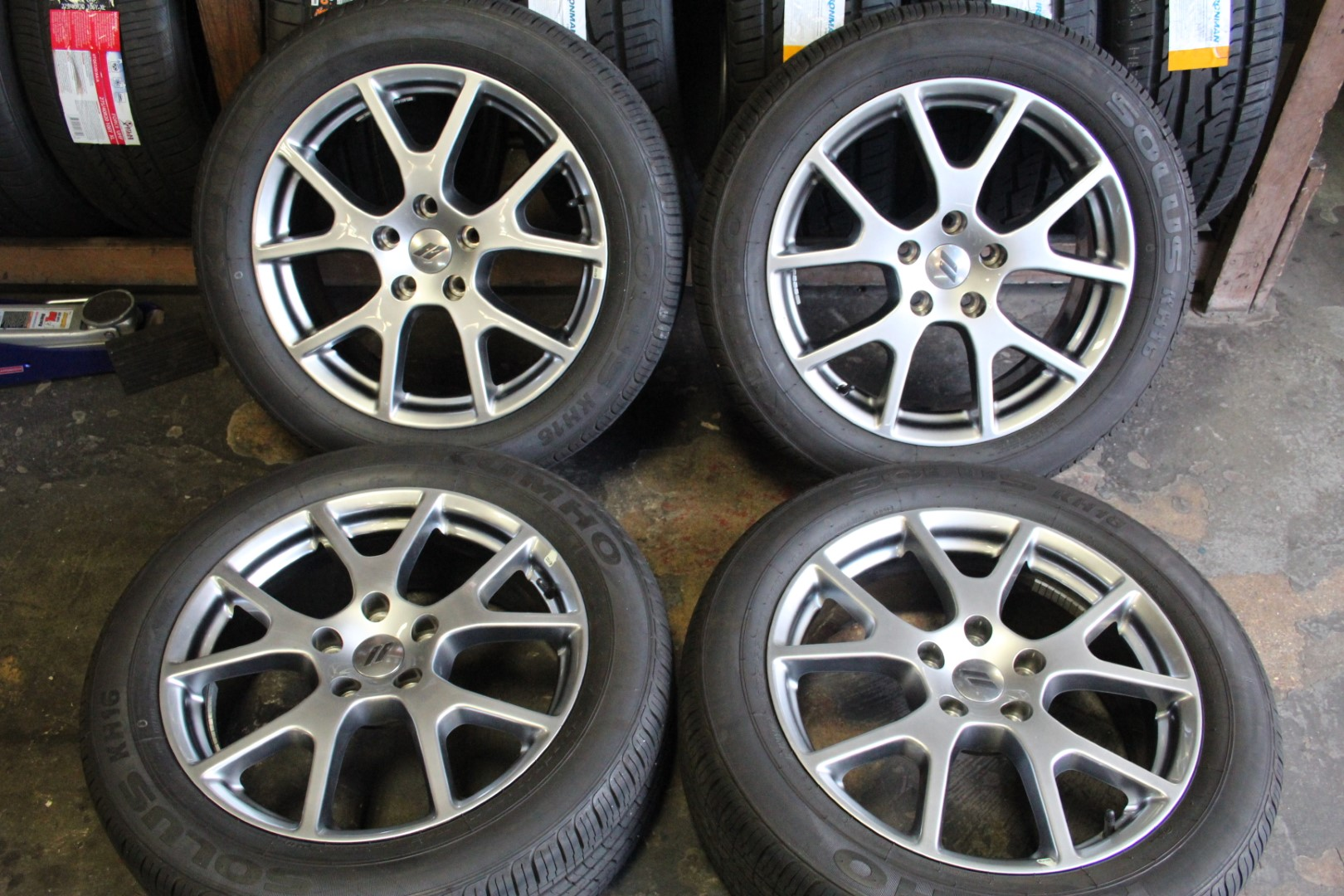 2012 Dodge Journey Tire Size >> Set Of 4 Dodge Journey 2011 2012 2013 2014 2015 2016 19 Oem Rims
